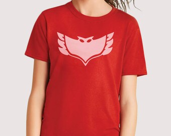 Amaya/Owlette T-shirt and Long Sleeve shirt (kids and adult sizes)