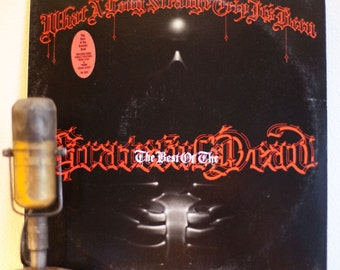 "Grateful Dead Vinyl Record LP ""What A Long Strange Trip It's Been:The Best of"" (Original 1977 WB w/""Dark Star"") Vintage Gatefold 2Lp Vinyl"