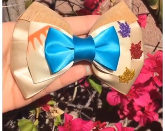 The Colors of the Wind Hair Bow