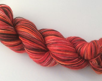 Blood of My Blood - hand dyed yarn 3.5 oz 437 yds