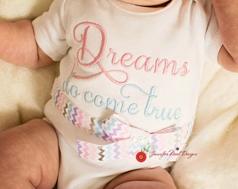 Princess Take Home Outfit, Take  Home From Hospital,  Dreams Do Come True, Newborn photos outfit, birth announcement outfitbaby gift