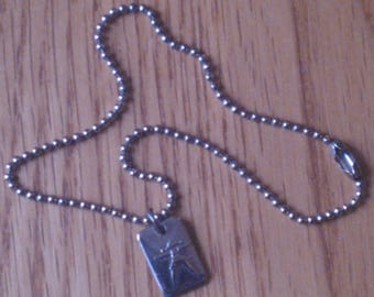 American Girl Pleasant Company Necklace from 1st American Girl of Today Meet Accessories...Very Hard to Find...Excellent Condition...Retired