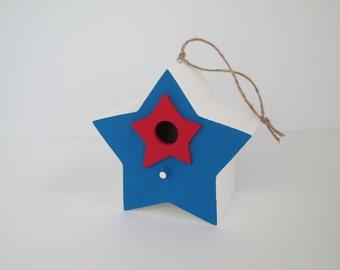 Star Shaped Birdhouse