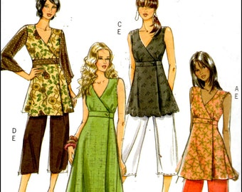 Butterick B5046  Fast & Easy  Misses' Top, Dress And Pants