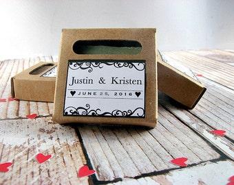 Custom Soap - Guest Soaps - Mini Soap Favors - Wedding Soap -  Wedding Soap Favors - Mini Soap - Personalized Soap Favor - Party Favor Soap