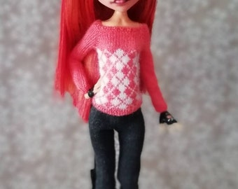 Monster High doll clothes /Кофта для кукол Monster High