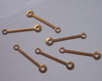 Vintage Brass Industrial Connectors