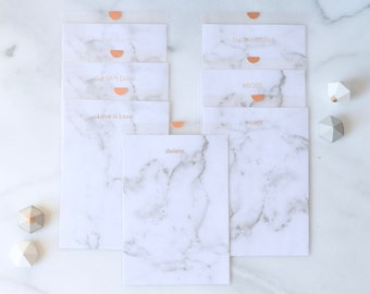 Marbled Notes