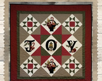 SALE!! Joyful Basket Quilt pattern by Buttermilk Basin