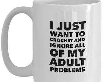 Gift for crocheters - Crochet mugs funny - Crochet mug