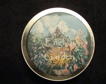 English Garden Solid Perfume, Perfume, Solid Perfume, Lavender Essential Oil, Rose Essential Oils, Valentine's Day Gift, Natural Perfume
