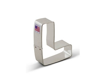 Letter L Cookie Cutter, Baking and Candy Making, Bakeware, Cookie Cutters