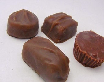 Chocolate Soaps set of 8