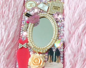 Pretty Pink Girly Case Cover for Iphones/Samsungs