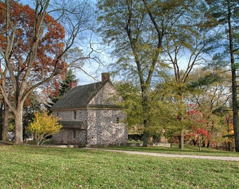 Landscape Photography, Autumn, Trees, Valley Forge Park, Historic Battlefield, Countryside, Philadelphia, Wall Art, Home, Office, Commercial