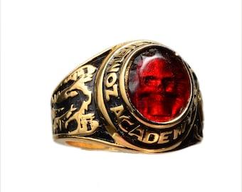 Zombie  Combat Academy Graduation Ring SIZE 10
