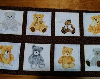 Love Me, Teddy Bear Panel