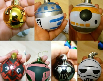 Star Wars Inspired Baubles.