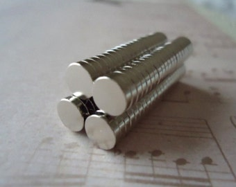 20 Small Amazingly Strong Crafting Magnets 1/4 inch Diameter