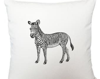 Cushions/ cushion cover/ scatter cushions/ throw cushions/ white cushion/ zebra cushion cover