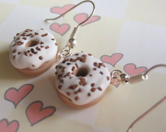 Scented Vanilla Frosted Donuts