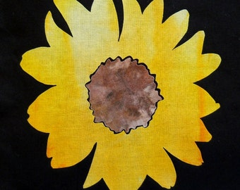 Sunflower Quilting Applique Pattern Design