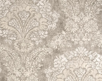 Hamilton Stone, Magnolia Home Fashions - Cotton Upholstery Fabric By The Yard