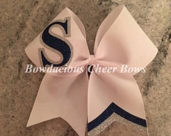 Custom Initial Cheer Bow