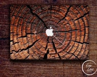 Wooden Macbook Decal / Macbook Sticker / Stickers macbook pro / Laptop sticker / Stickers laptop / Macbook pro 13 case / Laptop decal /EL036