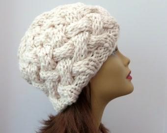 PDF Knitting  Pattern 173 The Magdalena  Hat, Knitting Pattern, Beanie, Bowler, Tam, Toque, Hat, Knitting Pattern Hat