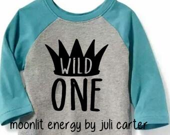 Wild One/Two/Three Toddler Shirt
