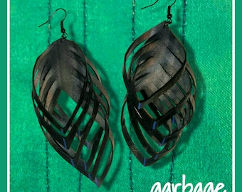 Shredded Vegan Earrings