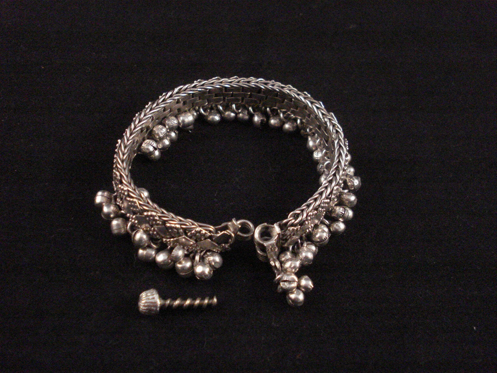 asp p bracelet indian silver diamante ring hand