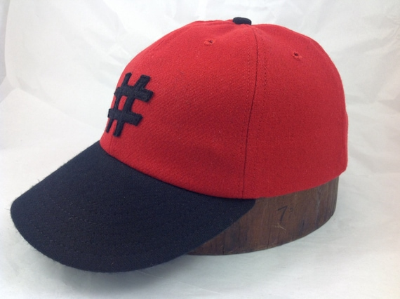 Hashtag felt logo on soft wool flannel, 40's visor, most colors available in any size. Gutter soft leather or cotton sweatband.