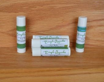 Lip Balm, Natural Lip Balm, Lip Butter