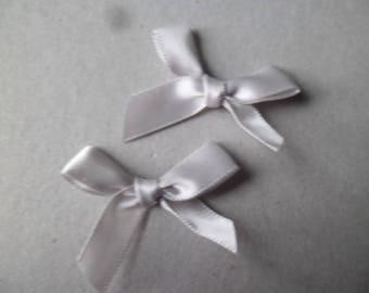 x 5 nodes silver satin 33 x 38 mm