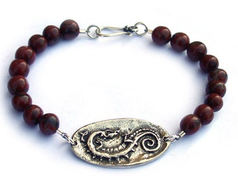 Vampire Diaries Celtic Dragon Bracelet