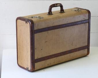 Sale Vintage suitcase Antique suitcase