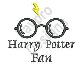 Harry Potter Fan - Machine Embroidery Design