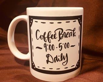 Coffee Break Daily Mug