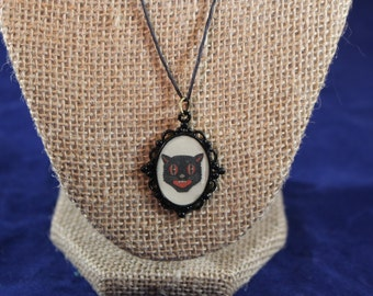 Vintage Style Halloween Necklace