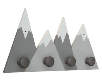 Mountain Coat Hooks - Mountain Hanger