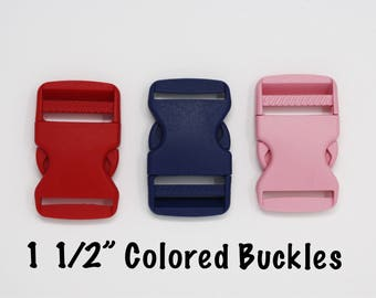 "Colored Buckles Add-on | Size: 1 1/2"" Width"