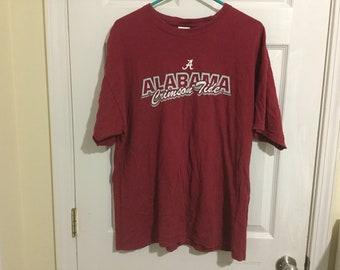 University of Alabama Crimson Tide T-Shirt! Red Color ~ Adult XL