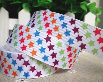 Ribbon star 22mm sold by the yard