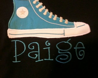 Personalized Converse T-shirt