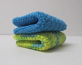 Crochet Washcloths 100% Cotton