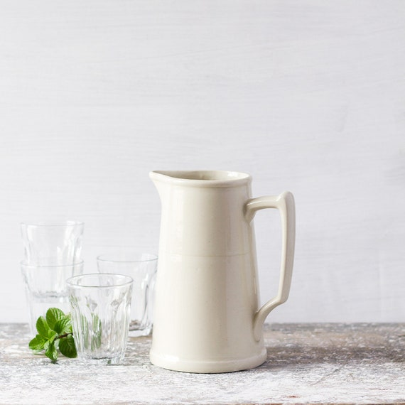 French Table Pitcher