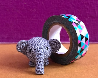 Crochet Mini Elephant