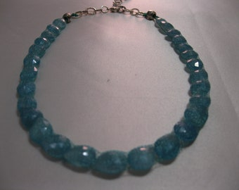 Blue chalcedony - creative stone that opens the mind to new ideas.